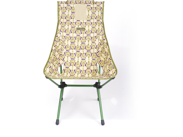 Helinox Sunset Chaise, triangle green/green